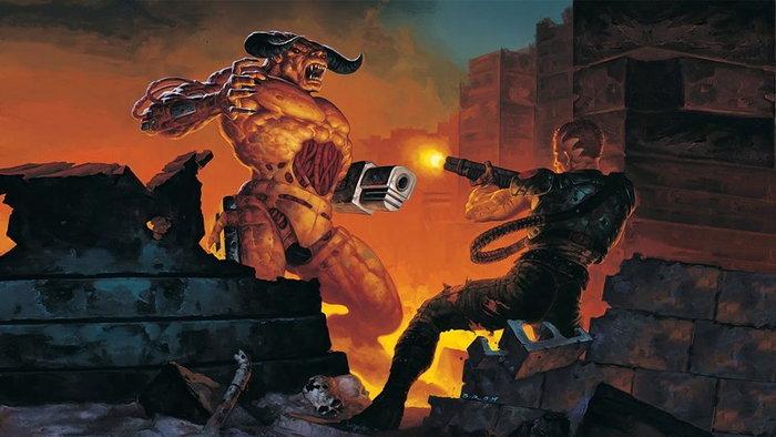 ข่าวลือ ค่าย bethesda เตรียมเปิดตัวเกม Doom ภาคสองในงาน E3 2018