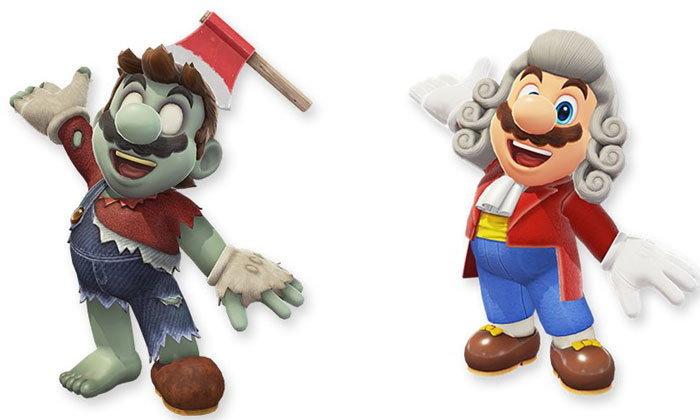 เปิดตัวชุดใหม่ของลุงหนวดในเกม Super Mario Odyssey