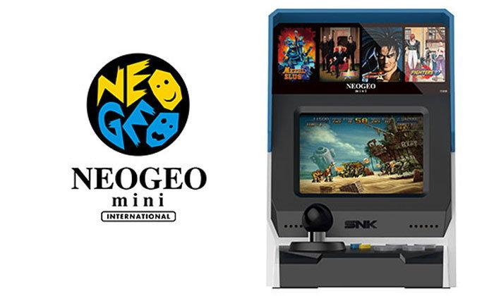 SNK เปิดตัว เครื่องเกม NEOGEO Mini ย้อนยุคจะมาพร้อมเกมในตัว