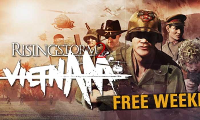 เกม Rising Storm 2 Vietnam เล่นฟรีสัปดาห์นี้บน Steam
