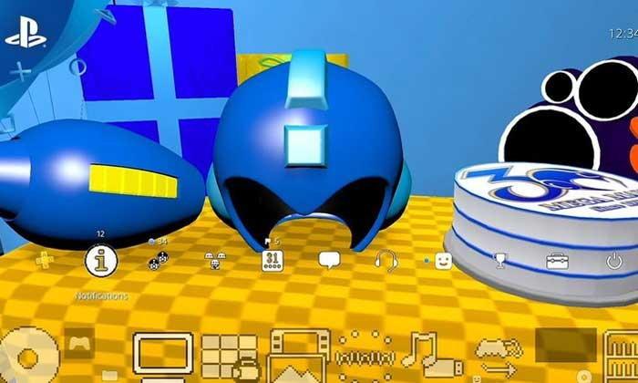 Sony แจก Theme เกม Rockman ฟรีสำหรับผู้ที่สั่งจองเกม Rockman 11