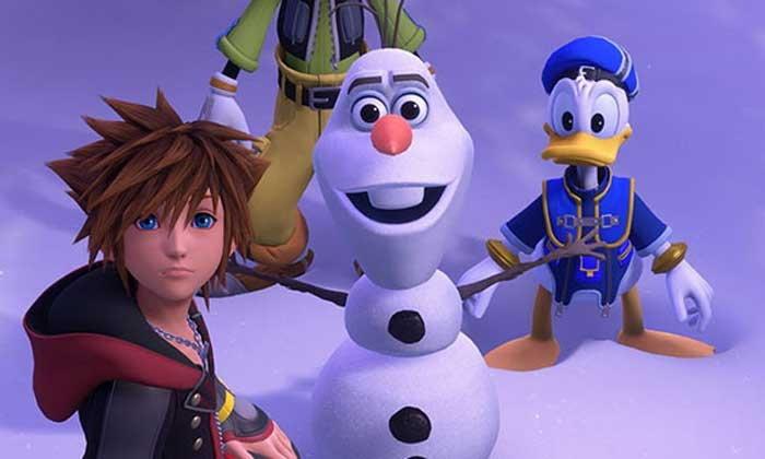 ชมตัวอย่างใหม่เกม Kingdom Hearts 3 ที่โชว์ฉากของการ์ตูน Frozen