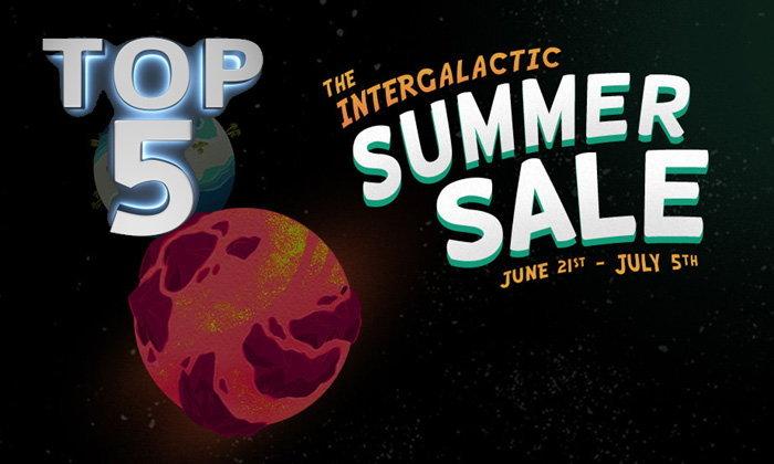 5 อันดับเกมฮิตขายดี ในช่วงเทศกาล Steam Summer Sale!