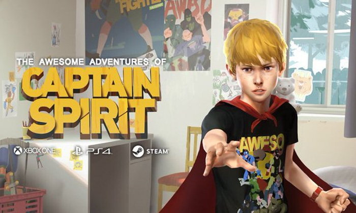 The Awesome Adventures of Captain Spirit เกมใหม่เปิดให้ดาวน์โหลดฟรี