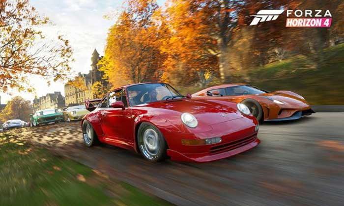 อย่างเหมือน! ชมคลิปเปรียบเทียบฉากในเกม  Forza Horizon 4 กับสถานที่จริง
