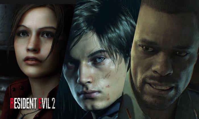 เผยโฉมหน้าตัวละครใน Resident Evil 2 Remake แท้จริงมาจากหน้านายแบบนางแบบ