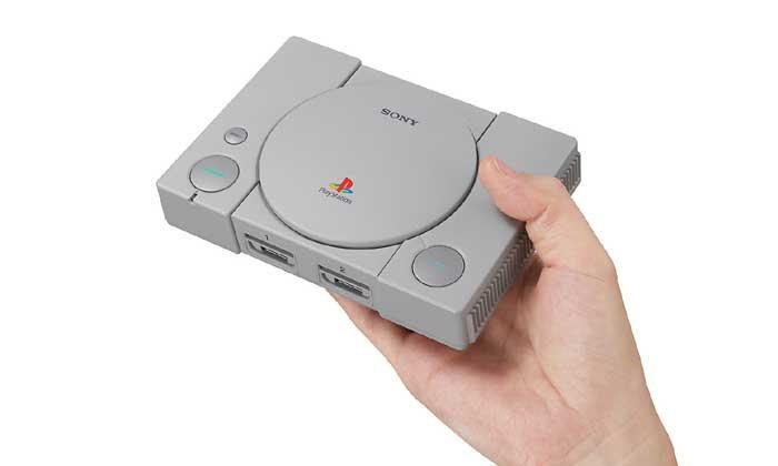 เอาบ้าง PlayStation Classic มาแล้ว เครื่อง PS1 ตัวจิ๋วจากโซนี่พร้อม 20 เกม