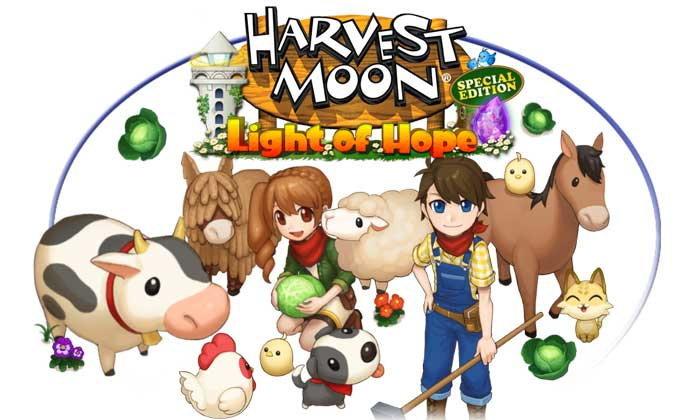 Harvest Moon Light of Hope ลงให้กับมือถือสมาร์ทโฟน ทั้งระบบ iOS เเละ Android