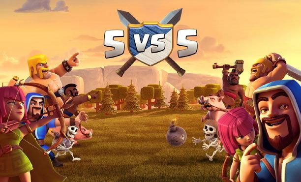 Clash of Clans 5vs5 สงครามแคลนขนาดจิ๋ว
