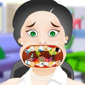 เกมส์ทำฟันคุณป้า