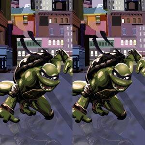 เกมส์จับผิดภาพ NINJA TURTLES