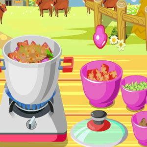 เกมส์ทำเนื้ออบสมุนไพรแสนอร่อย