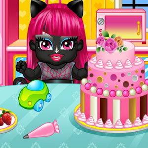 เกมส์ทำเค้กสัตว์ประหลาด