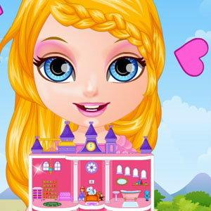 เกมส์แต่งบ้าน Baby Princess Dollhouse