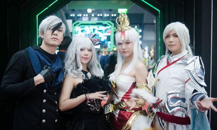 เบื่อประชุมสภา มาดูพริตตี้จากงาน Thailand Game Expo กันดีกว่า