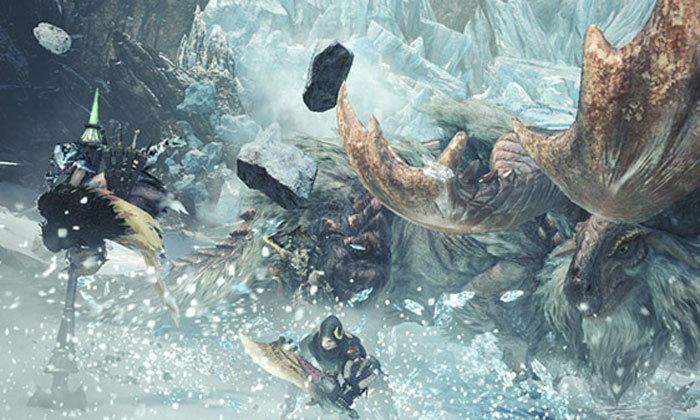 เสือขาวก็มา! Monster Hunter World Iceborne เพิ่ม Barioth กลับมาอีกครั้ง