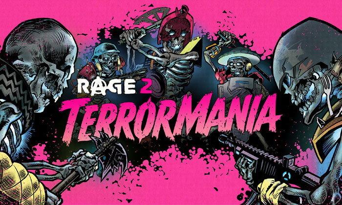 ตะลุยกองทัพโครงกระดูกในเนื้อเรื่องเสริม TerrorMania ของ Rage 2