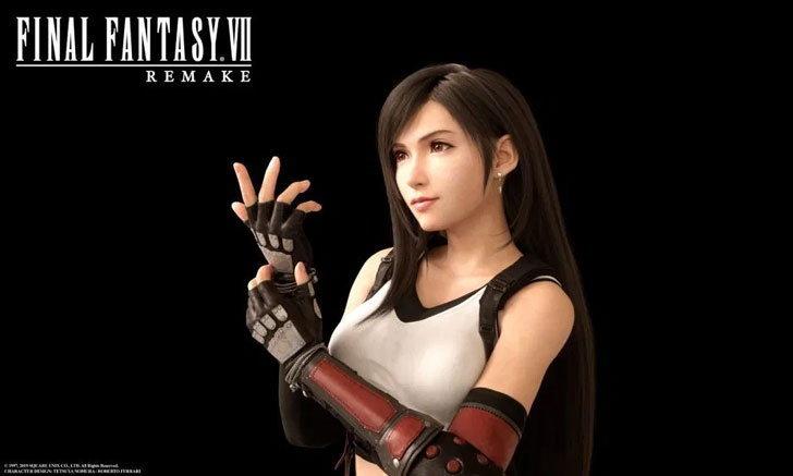 Final Fantasy VII Remake รายละเอียดการเล่นด้วย Tifa และ Aerith