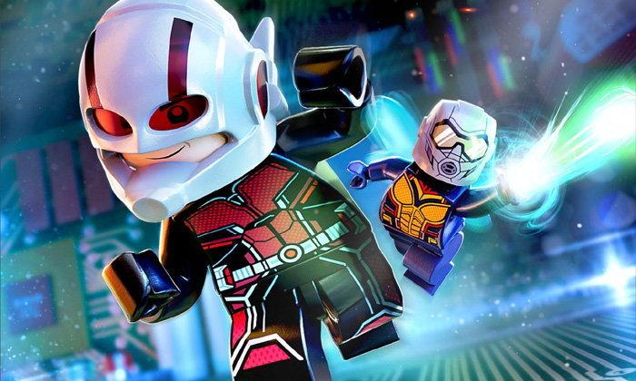 Lego Marvel Super Heroes 2 เพิ่มตัวละครจาก Ant-Man And The Wasp