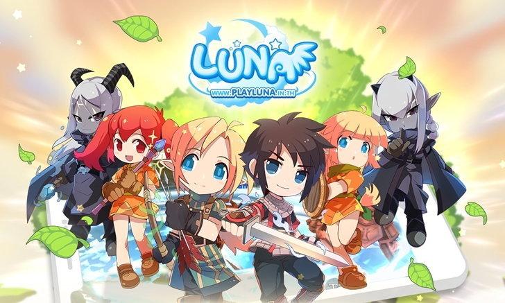 เปิดให้บริการแล้ว Luna M เกมมือถือแนว MMORPG จากไอพีเกมชื่อดัง