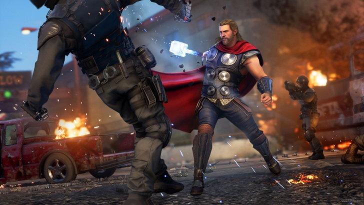 Marvel's Avenger เกม