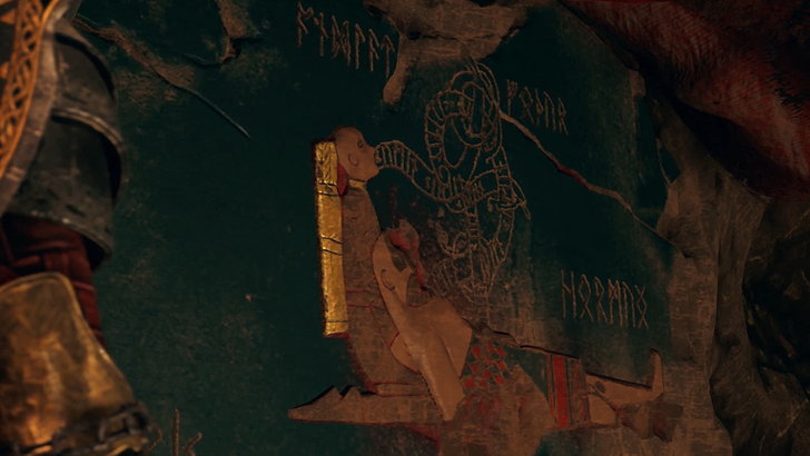 ภาพปริศนาที่ว่ากันว่า Kratos จะต้องจบชีวิตในภาค Ragnarok ที่หลายๆคนต้องการคำเฉลย