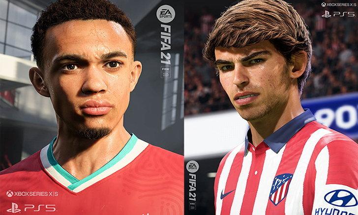 เห็นยันสิว! EA ปล่อยภาพ FIFA 21 สองนักเตะดังในคราบเวอร์ชั่น Next-Gen