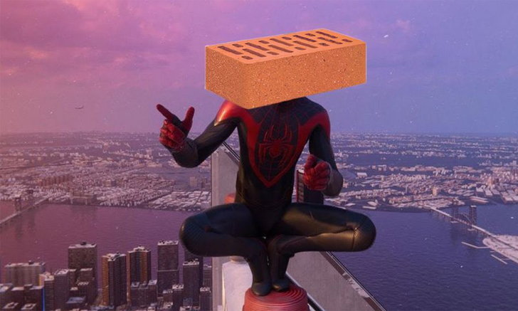 ชมบั๊กสุดฮาของ Spider-Man Miles Morales เปลี่ยนผู้เล่นเป็นสิ่งของ