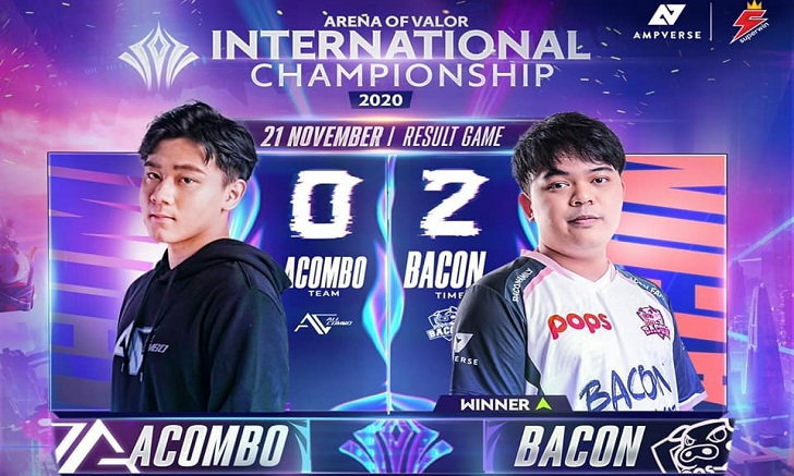 RoV สรุปการแข่งรอบ Group Stage : All Combo Vs POPS Becon Time