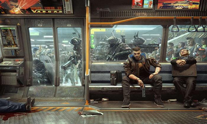 รวมอัลบั้มภาพ Art สุดเจ๋งของ Cyberpunk 2077