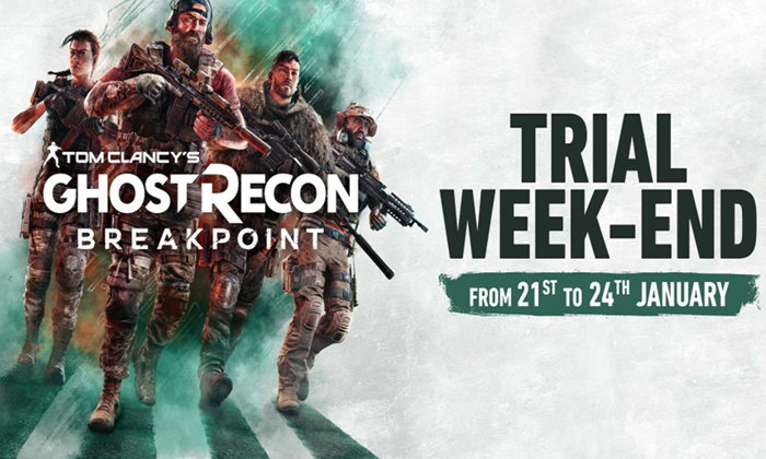 Tom Clancy's Ghost Recon Breakpoint เล่นฟรีถึง 25 ม.ค.นี้