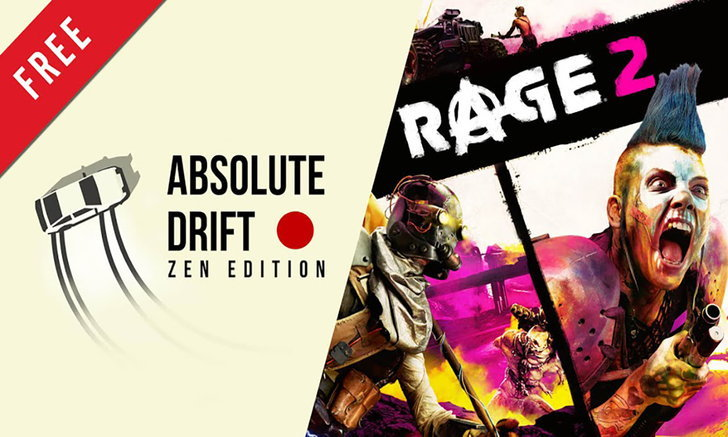 ก่อนหมดเขต! Epic Games Store แจกฟรีเกมส์ Rage 2 และ Absolute Drift