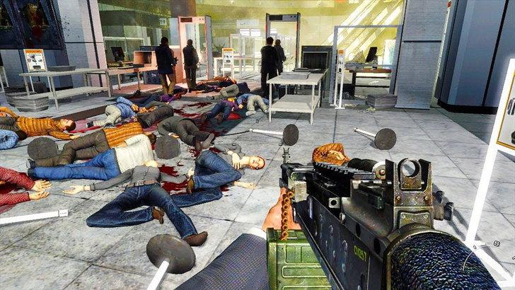 ฉาก No Russian ของเกม Call of Duty Modern Warfare 2 ถูกโทษว่าเป็นต้นเหตุความรุนแรงบ่อยมากเกมหนึ่ง
