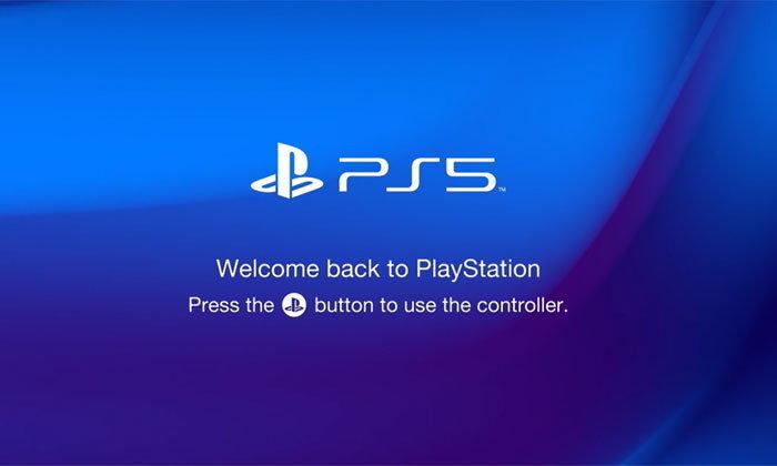 หน้าจอบูทเครื่อง PS5 ที่แฟนๆสร้างขึ้นเอง ของจริงจะมาแบบนี้ไหม