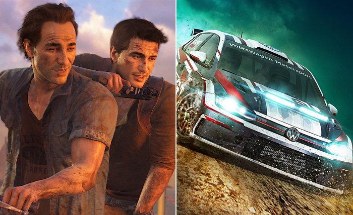 หลุด!? PS Plus เตรียมแจก Uncharted 4 และ DiRT Rally 2.0 เป็นเกมฟรีในเดือนเมษา