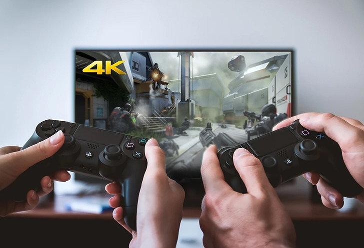 4K กับ การเล่นเกมในจอทีวี