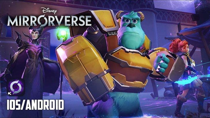 Disney เอาใจสายการ์ตูนขนตัวละครคับคั่ง เป็นเกม Disney mirorverse ลงระบบมือถือไม่นานเกินรอ