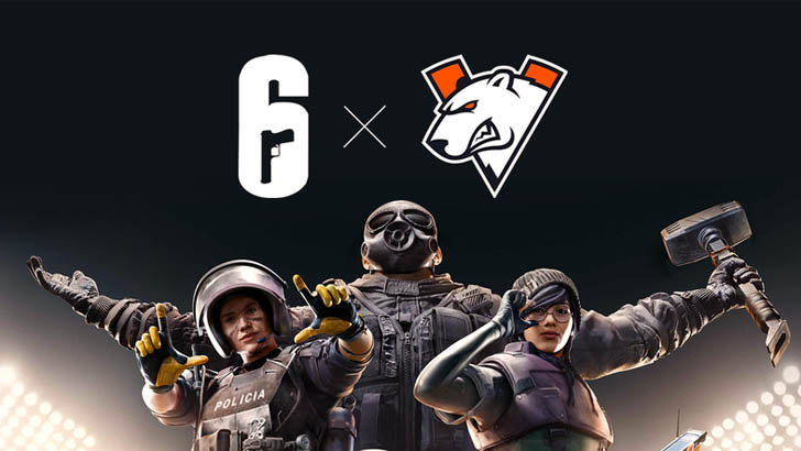 Virtus.Pro ดึงผู้เล่นร่วมชาติ forZe eSports ร่วมทีม Rainbow Six แบบยกชุด