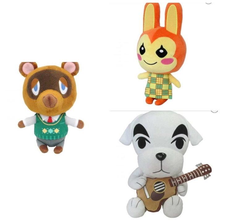 ตุ๊กตาน่ารักของแท้จากเกม Animal Crossing เปิดให้สั่งซื้อแล้ว
