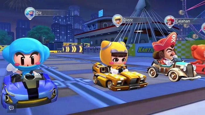 เกมแข่งรถ KartRider Rush + มียอดดาวน์โหลดไปแล้วกว่า 10 ล้านครั้ง