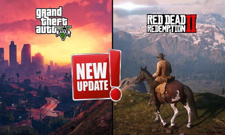 เฮ! Rockstar ประกาศอัพเดต GTA V และ Red Dead Redemption 2 เร็วๆนี้