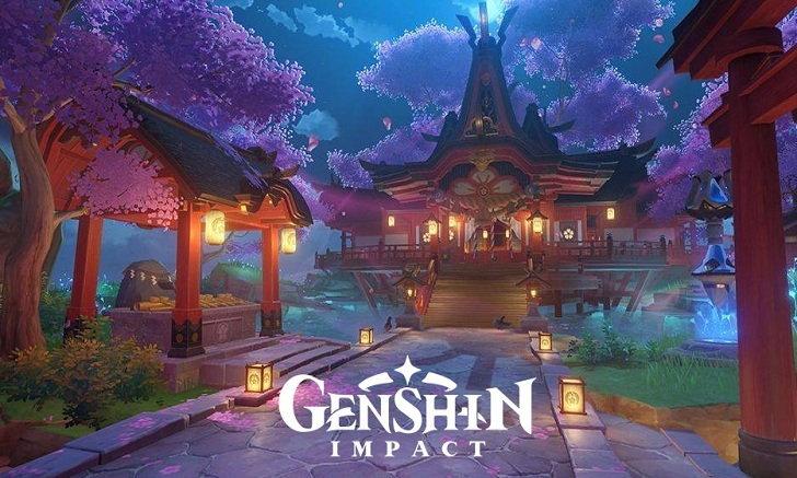 Genshin Impact มือถือระเบิด !! สวยกว่าเมืองอื่น เกาะ Inazuma !! ปีกสายฟ้า Artifact