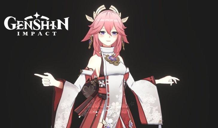 Genshin Impact ของจริง !! Inazuma จงเจริญ ตัวใหม่มาเพียบ Yae Gorou Sara Kokomi