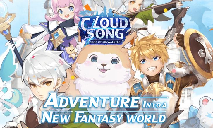 Cloud Song เกมมือถือแนวผจญภัยสุดแฟนตาซีเริ่มให้ลงทะเบียนแล้ววันนี้