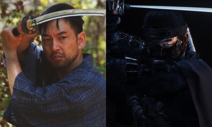 เมื่อนักแสดง Jin Sakai มาฝึกวิชาดาบแบบใน Ghost of Tsushima
