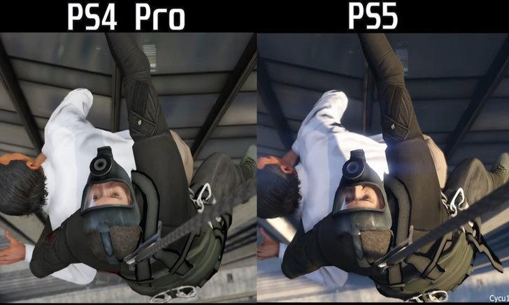 เทียบกันเห็น ๆ คลิปเปรียบเทียบกราฟิก GTAV เวอร์ชั่น PS4 VS PS5