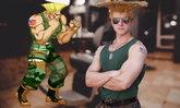 ฮาที่ทรงผม คอสเพลย์ไกล์ จากเกม Street Fighter