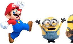 เกม Super Mario จะถูกสร้างเป็นภาพยนตร์โดยทีมงานสร้าง Minions