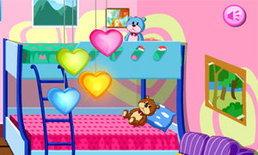เกมส์แต่งห้องนอนหนูน้อยวัยกระเตาะ