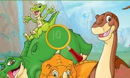 เกมส์หาตัวเลขในภาพไดโนเสาร์